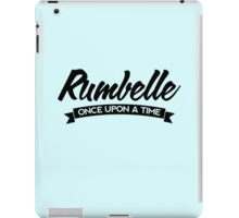 Once Upon a Time - Rumbelle - Dark iPad Case/Skin