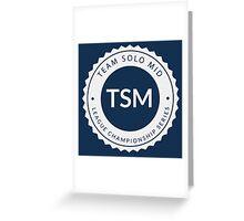 Vintage TSM Boyscout Badge Greeting Card