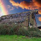Rainbow Over Ruins by Tamara Valjean