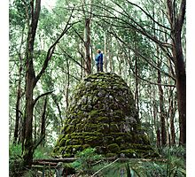 Mount Juliet Cairn, Yarra Ranges, Victoria. Photographic Print