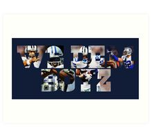 Dallas Cowboys Offense - We Dem Boyz Art Print