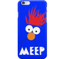 Beaker MEEP iPhone Case/Skin