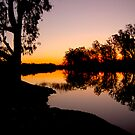 Night Falls on the Murray by Emjay01
