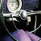 purple bug purple legs by Damien Loverso