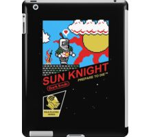 8 Bit Sun Knight iPad Case/Skin