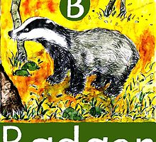 B is for Badger by DavidDonovan