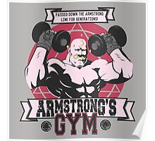 Strong Arm Gym Poster