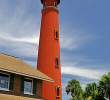 Ponce de Leon Lighthouse by Dennis Jones - CameraView