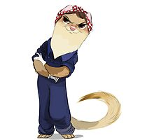 Ferret Tough by Lifeanimated