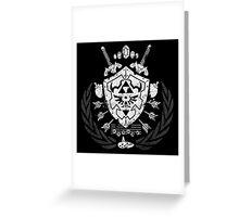 Hylian Crest Greeting Card
