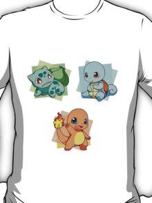first gen pokemon kawaii design T-Shirt