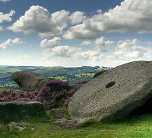 Millstone Edge - The Peak District by Steven  Lee