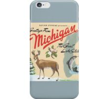 Greetings from Michigan! iPhone Case/Skin