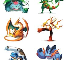 third mega evolutions pokemons by peekacho