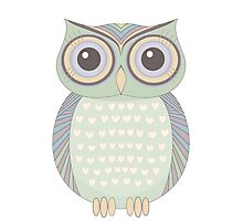 One Cool Owl Photographic Print