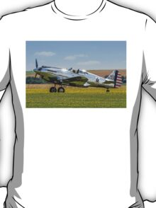 Curtiss P-40C 41-13357 N80FR out in the buttercups T-Shirt