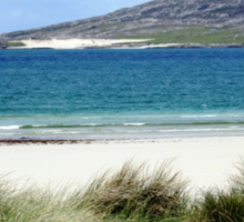 Immaculate Sands - Seilebost and Luskentyre Beaches Sticker