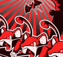 Team Rocketganda Sticker