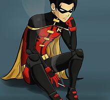Robin - Jason Todd - Young Justice by Shamserg