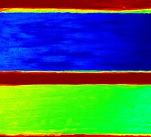 Colorful Abstract Painting Original Art Titled: Sun & Moon by ZeeClark