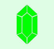 Green Rupee Zelda Coin  by beerhamster