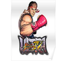 ultra street fighter ryu Poster