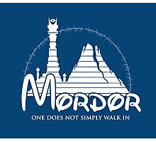 Disney Mordor Photographic Print