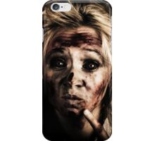Evil Dead Female Zombie With Monster Headache iPhone Case/Skin