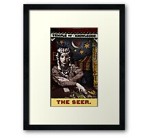 The Seer: from the Tarot of the Zirkus Mägi Framed Print