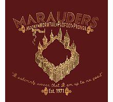 marauders shirt Photographic Print