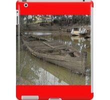 Shipwreck, Echuca, Australia 2011 iPad Case/Skin