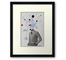 mr logical  Framed Print