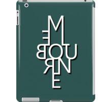 Melbourne - Mirror Text iPad Case/Skin