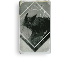 Hunter Lavellan Tarot Card Canvas Print