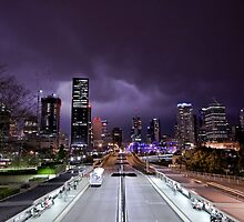 Storm Over Brisbane by Deyne Foster
