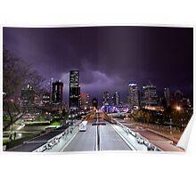 Storm Over Brisbane Poster