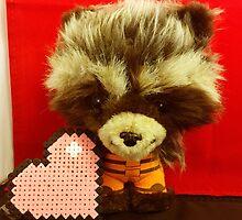 Rocket Raccoon Valentines by FendekNaughton