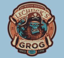 Ghost Pirate Grog Kids Clothes