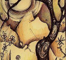 curvey tree by kiakin
