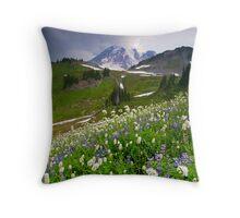 Lupine Storm Throw Pillow