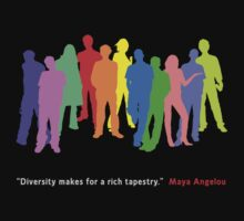 Diversity by WearableTee .