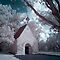 Infrared Church by Annette Blattman