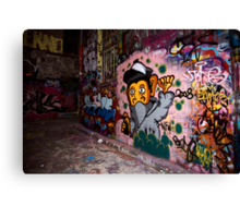 More Graffiti around Melbourne Canvas Print