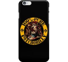 Psychobilly Girl - yellow iPhone Case/Skin