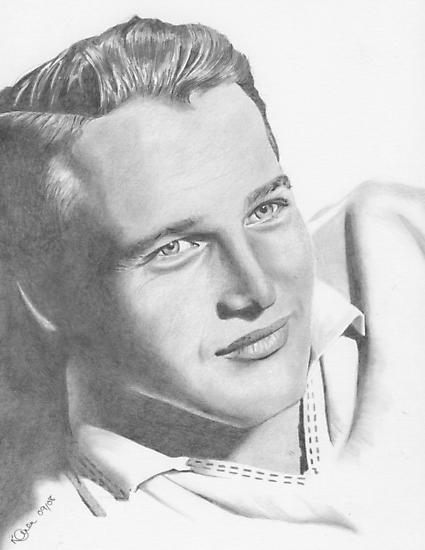 Paul Newman by Karen Townsend