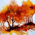 The Trees-Autumn by  Janis Zroback
