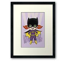 Li'l Batgirl Framed Print