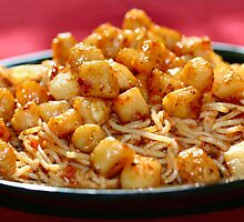Scallop Pasta by chrishawns