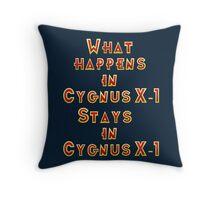 Cygnus X-1 Throw Pillow