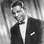 Nat King Cole (Nathaniel Adams Coles) March 17 1919 - February 15, 1965 by Dennis Melling